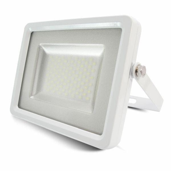 Ultratenký LED reflektor bílý 100W 8000lm denní