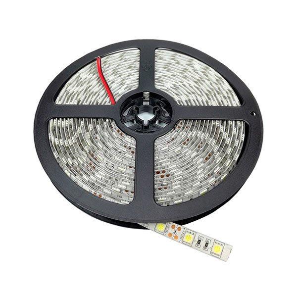 LED pásek 60x5050 smd 14,4W/m, voděodolný teplá, délka 5m