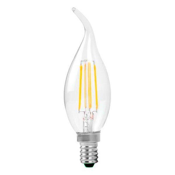 Stmívatelná Retro  LED žárovka E14 4W 400lm teplá, filament, ekvivalent 27W