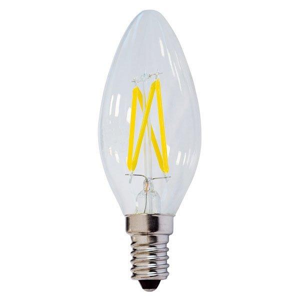 Retro  LED žárovka E14 4W 400lm, denní, filament, ekvivalent 40W