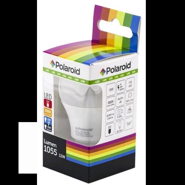 Polaroid LED žárovka E27 12W 1055lm teplá, ekvivalent 75W