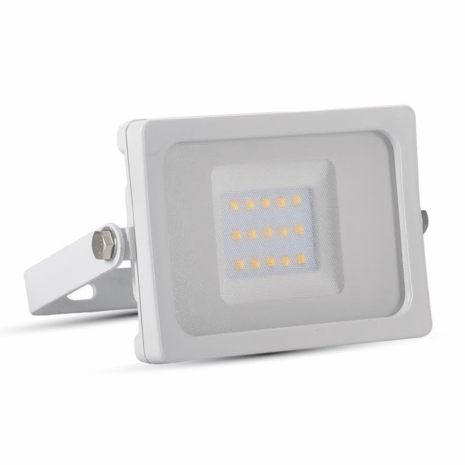 Ultratenký LED reflektor bílý 10W 800lm denní