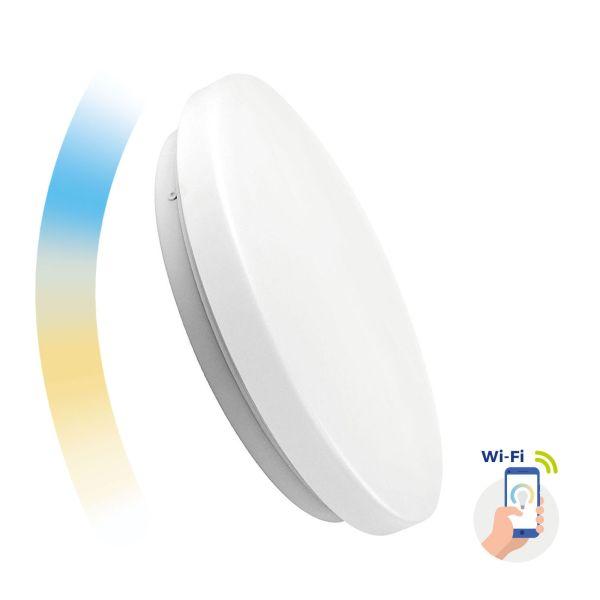 Chytré LED svítidlo 36W 2500-2700lm WIFI teplá, denní, studená (SMART)