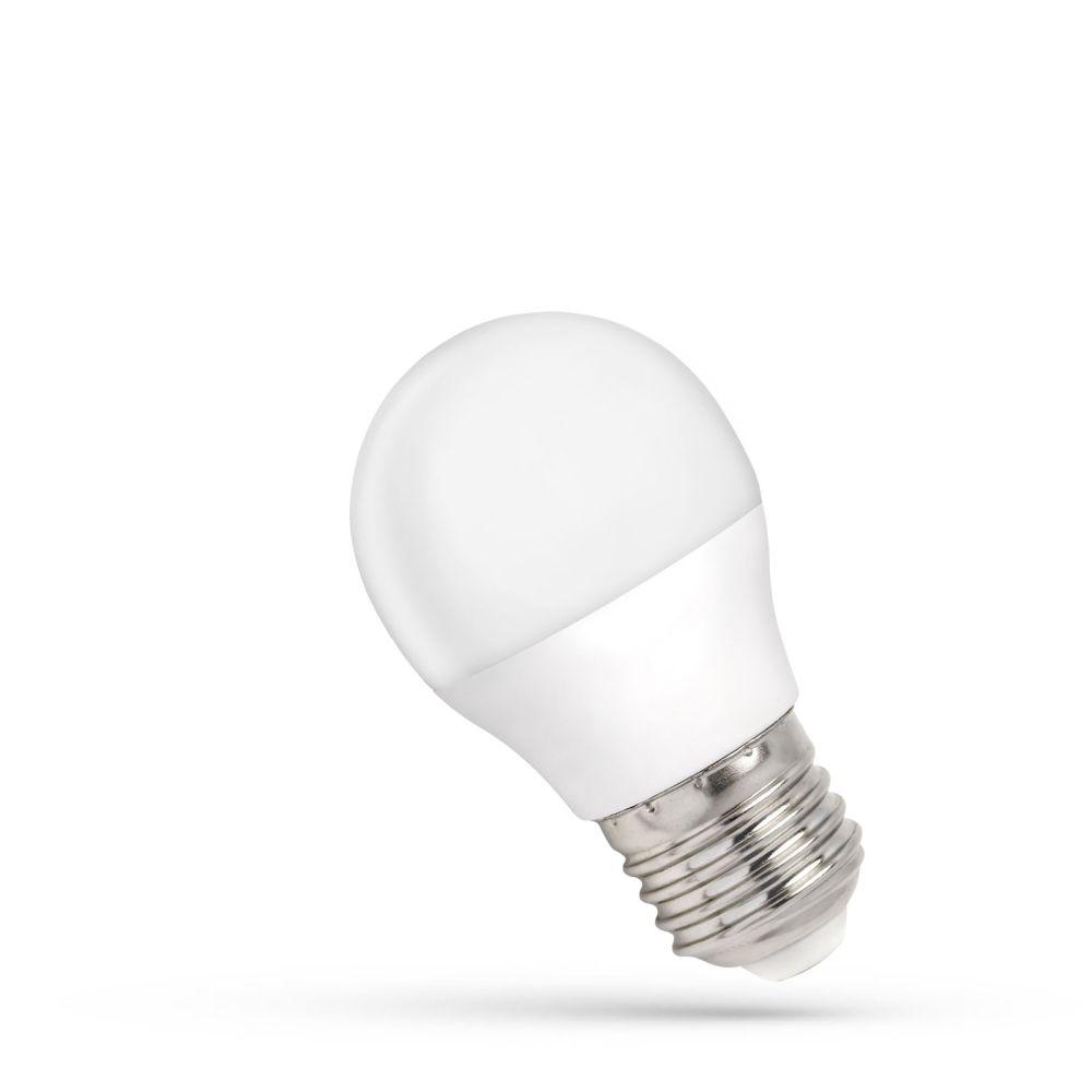 LED  žárovka E27 4W  340lm G45, studená, ekvivalent 30W