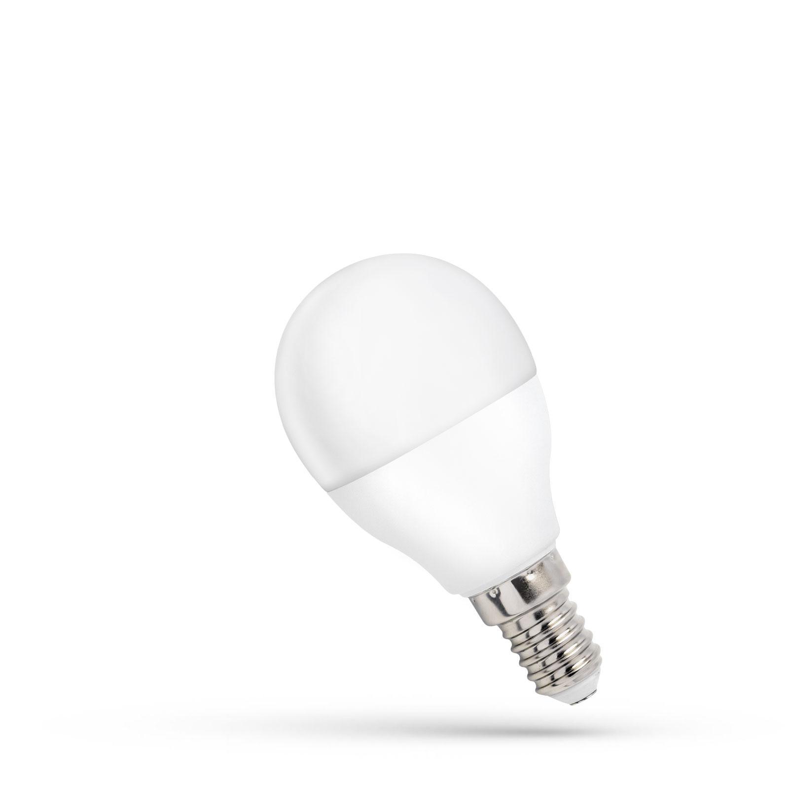 LED žárovka  E14 8W 620lm G45 teplá,  ekvivalent 60W