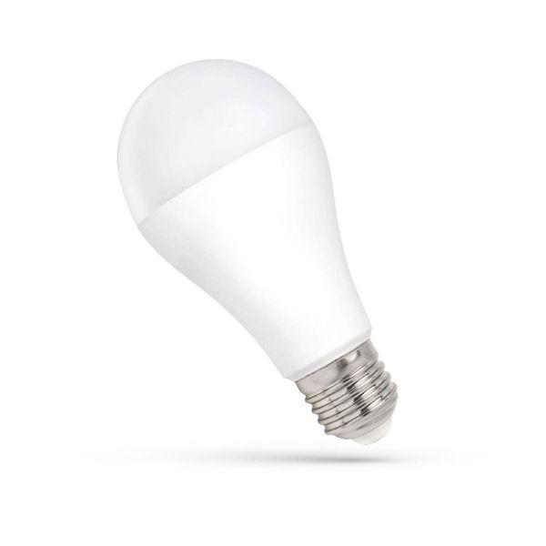 LED žárovka E27 15W 1500lm teplá, ekvivalent 98W