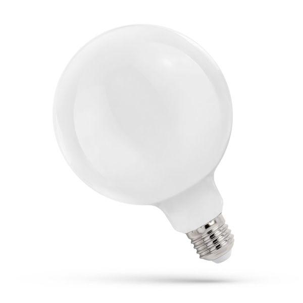 Retro LED žárovka E27 11W 1250lm G125 teplá,  filament, ekvivalent 85W