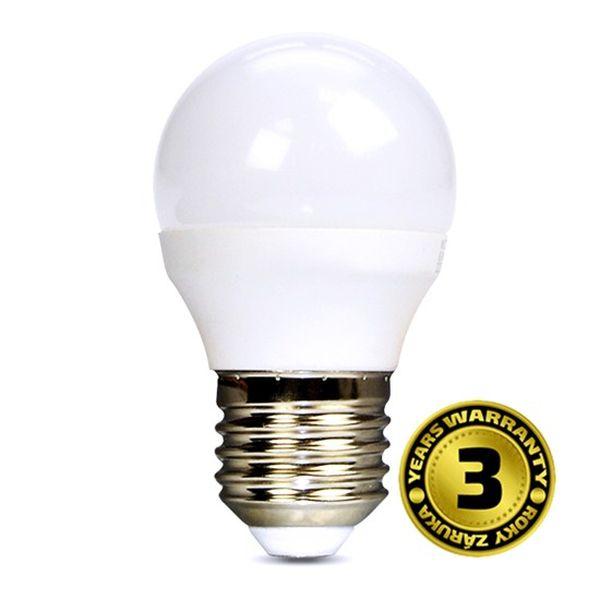 Akce: LED žárovka E27 6W 450lm G45, studená 3+1