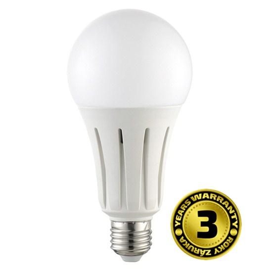LED žárovka E27 24W 2050lm teplá, ekvivalent 128W