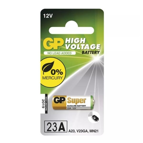 Alkalická speciální baterie GP 23AF - MN21 V23GA 12 V