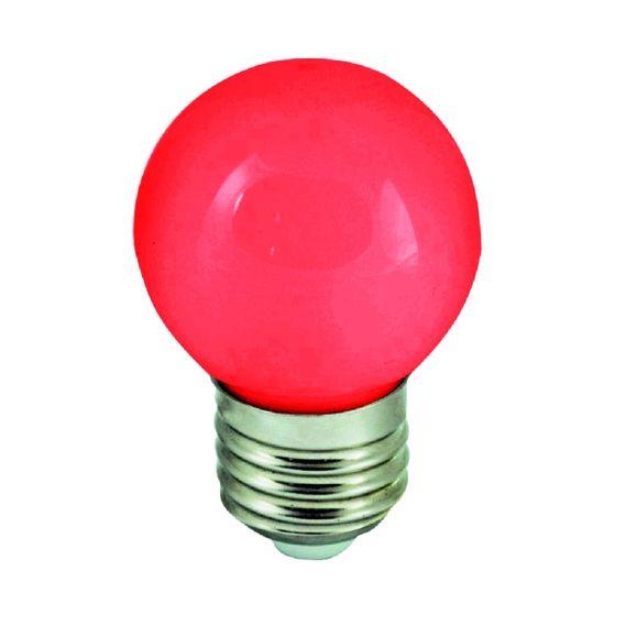 Barevné LED žárovky