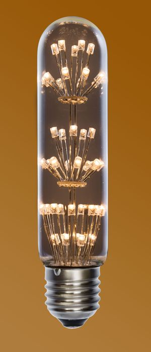 Dekorativn� LED ��rovka E27 1,7W 130lm tepl�, ekvivalent 15W