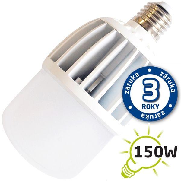 LED žárovka E27 30W 2500lm teplá, ekvivalent 150W