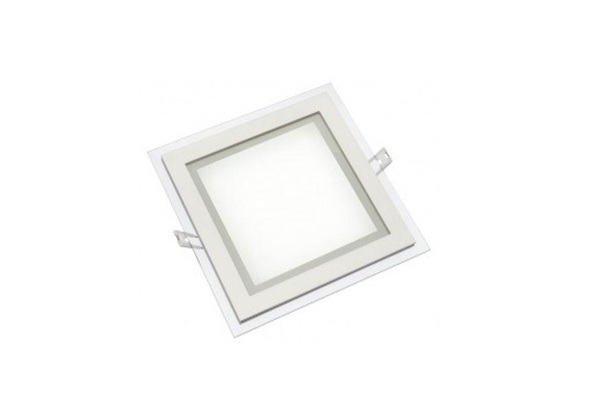 Led svítidlo stropní FIALE ECO 6W 340lm 10,5x10,5cm teplé světlo, čtvercové
