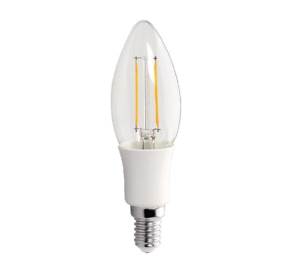 LED ��rovka E14 3W 210lm tepl�, filament, ekvivalent 24W