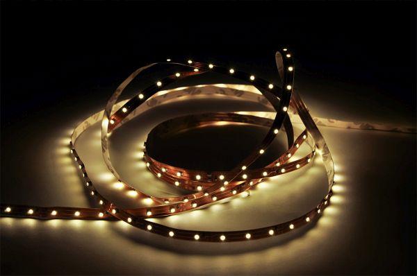LED pásek 30x5050 smd 7,2W/m, teplá, délka 5m