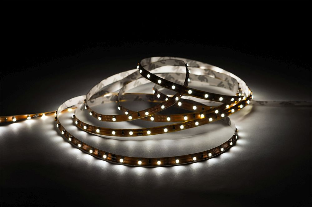 LED pásek 4,8W/m, studená, délka 5m