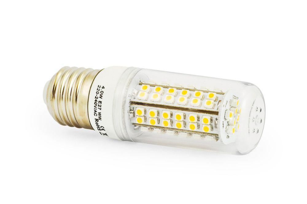LED žárovka E27 4W 300lm  teplá, ekvivalent 31W - DOPRODEJ, POSLEDNÍ KUSY