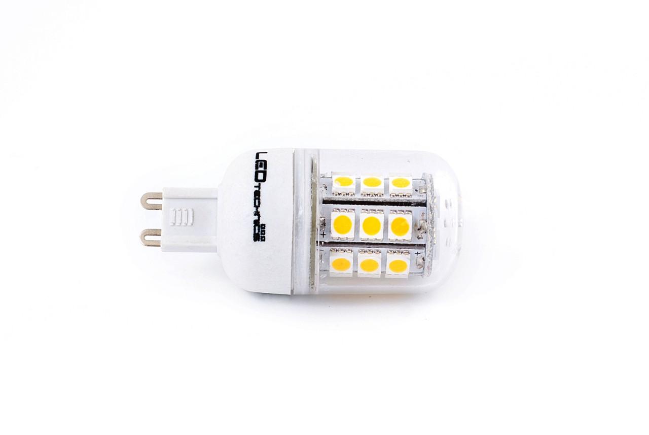 LED žárovka G9 4,5W 360lm teplá, ekvivalent 35W