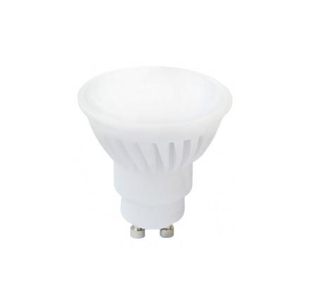LED žárovka GU10 10W 680lm teplá, ekvivalent 56W
