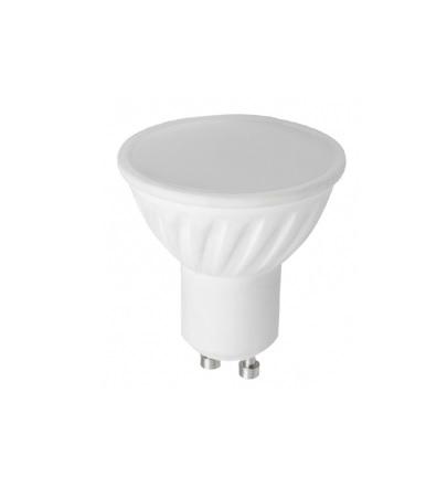 LED žárovka GU10 8W 560lm teplá, ekvivalent 52W