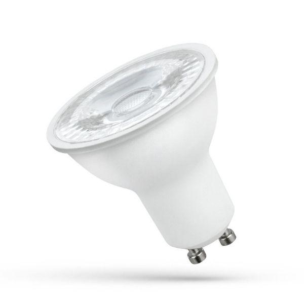 Stmívatelná LED žárovka GU10  5W  450lm teplá, ekvivalent 40W