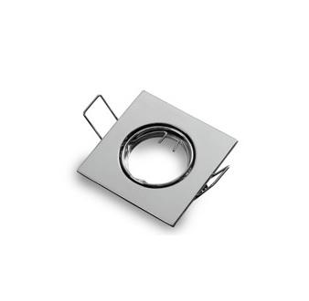 Podhledové bodové svítidlo výklopné chrom lesklý pro MR11(3,5cm)