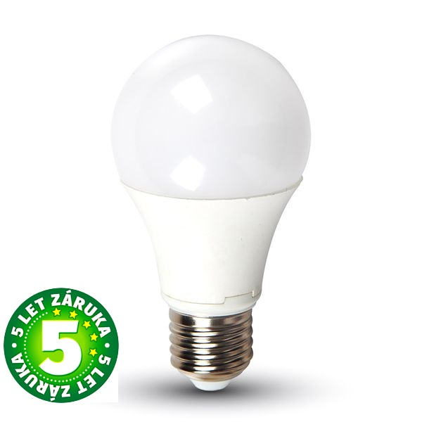 Prémiová LED žárovka E27 SAMSUNG čipy 9W 806lm teplá