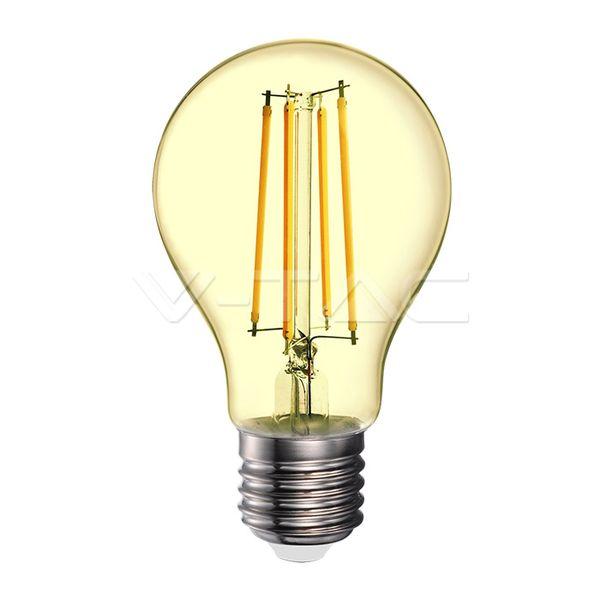 Retro LED žárovka E27 12,5W 1240lm teplá, filament, ekvivalent 85W