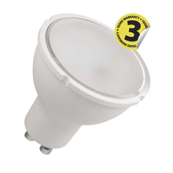 LED žárovka GU10 6W 510lm teplá, 3-stupňové stmívaní, ekvivalent 42W