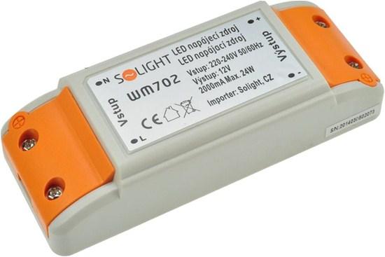 N�bytkov� LED nap�jec� zdroj 12V 24W 2A