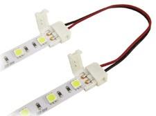 Spojka na obyčejné LED pásky 10mm, délka 13cm