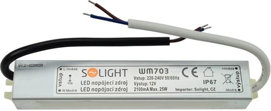Voděodolný LED napájecí zdroj 12V 25W 2,1A