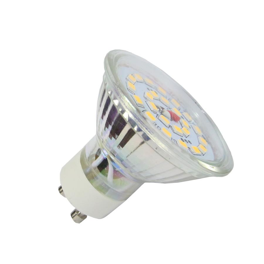 LED ��rovka GU10 4W  350lm tepl� , ekvivalent 34W
